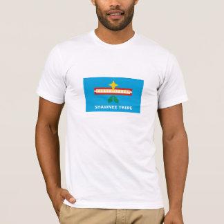 T-shirt Drapeau de la tribu de Shawnee de l'Oklahoma