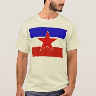 T-shirt Drapeau de la Yougoslavie