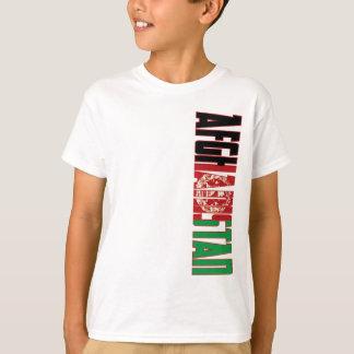 T-shirt Drapeau de l'Afghanistan