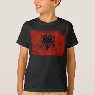T-shirt Drapeau de l'Albanie