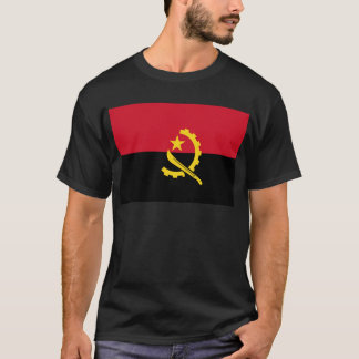 T-shirt Drapeau de l'Angola - le Bandeira De Angola