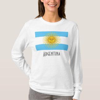 T-shirt Drapeau de l'Argentine, Argentine