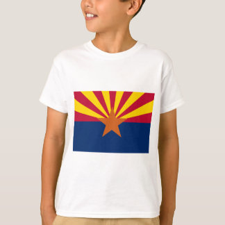 T-shirt Drapeau de l'Arizona