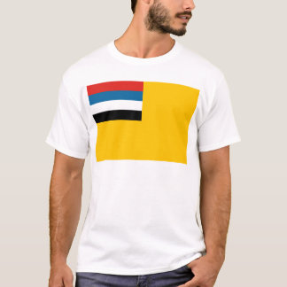 T-shirt Drapeau de l'empire du 滿洲國 de Manchukuo ; 满洲国 ;