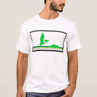 T-shirt Drapeau de l'Île du Cap-Breton
