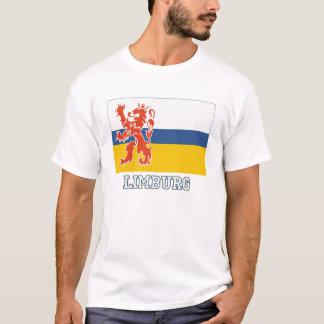 T-shirt Drapeau de Limbourg avec le nom