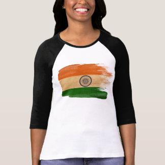 T-shirt Drapeau de l'Inde