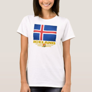 T-shirt Drapeau de l'Islande