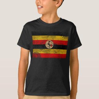 T-shirt Drapeau de l'Ouganda