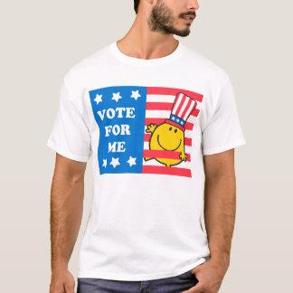 T-shirt Drapeau de M. Happy Vote For Me