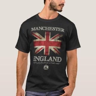 T-shirt Drapeau de Manchester Angleterre R-U