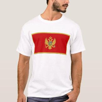 T-shirt Drapeau de Monténégro