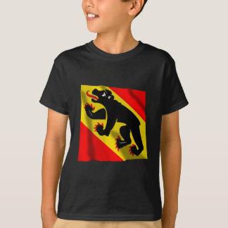 T-shirt Drapeau de ondulation de Berne