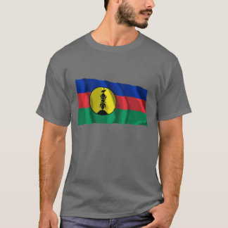 T-shirt Drapeau de ondulation de Kanaky