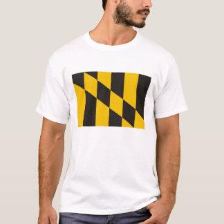 T-shirt drapeau de pays du Maryland Etats-Unis de ville de