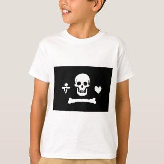 T-shirt Drapeau de pirate de capot de Stede