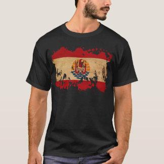 T-shirt Drapeau de Polynésie française