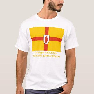 T-shirt Drapeau de province d'Ulster avec le nom