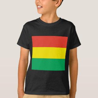 T-shirt Drapeau de reggae