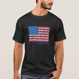 T-shirt Drapeau de serment de fidélité