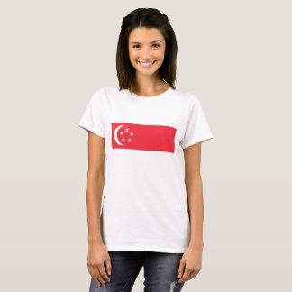 T-shirt Drapeau de Singapour