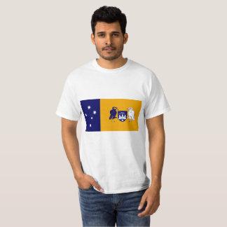 T-shirt Drapeau de territoire de capitale de l'Australie