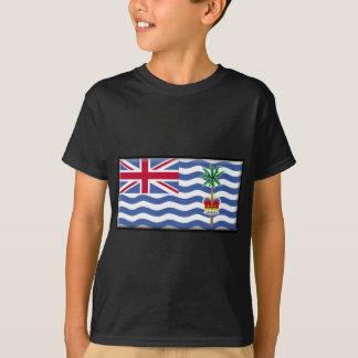 T-shirt Drapeau de territoire d'Océan Indien britannique
