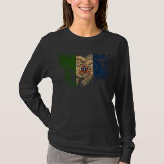 T-shirt Drapeau de territoires de Yukon
