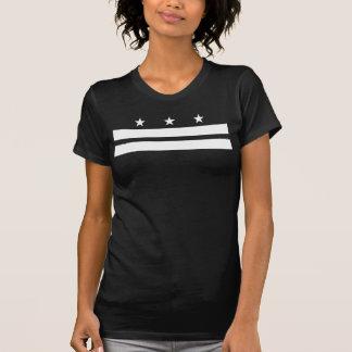 T-shirt Drapeau de Washington DC - blanc