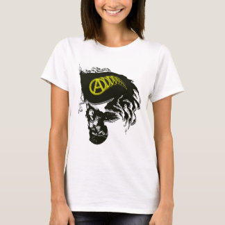 T-shirt Drapeau déchiré en lambeaux par capitaliste