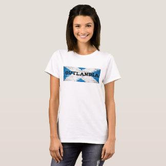 T-shirt Drapeau d'écossais d'Outlandia