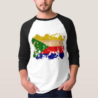 T-shirt Drapeau des Comores
