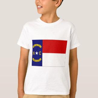 T-shirt Drapeau des Etats-Unis la Caroline du Nord