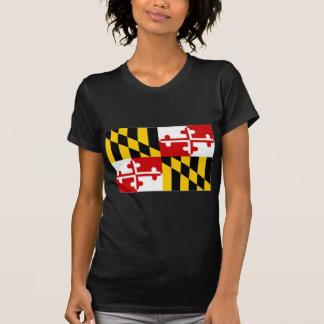 T-shirt Drapeau des Etats-Unis le Maryland