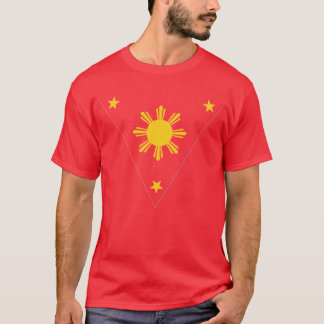 T-shirt Drapeau des Philippines, NG Pilipinas de Watawat