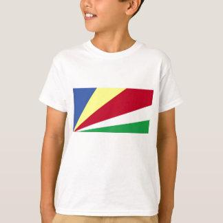 T-shirt Drapeau des Seychelles