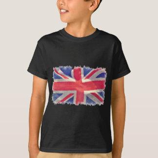 T-shirt Drapeau des syndicats ou patriote d'Union Jack les