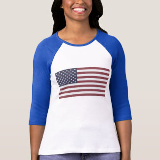 T-shirt Drapeau des USA