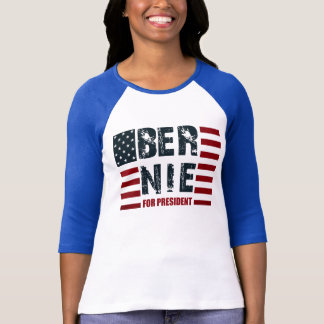 T-shirt Drapeau des USA de ponceuses de Bernie