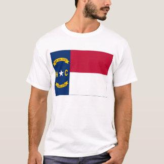T-shirt Drapeau d'état de la Caroline du Nord