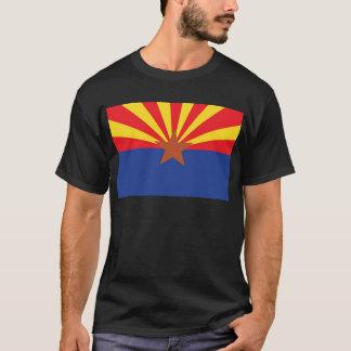 T-shirt Drapeau d'état de l'Arizona