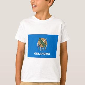 T-shirt Drapeau d'état de l'Oklahoma