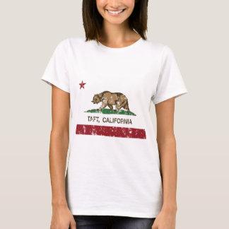 T-shirt drapeau d'état de Taft la Californie