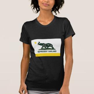 T-shirt Drapeau d'état d'Oakland