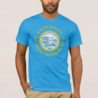 T-shirt Drapeau d'état du Dakota du Sud