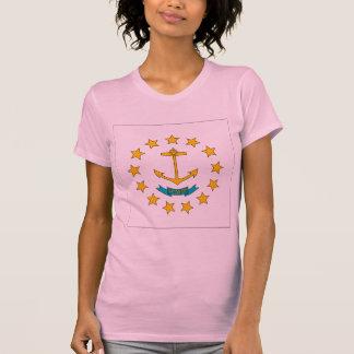 T-shirt Drapeau d'Île de Rhode