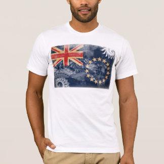 T-shirt Drapeau d'îles Cook