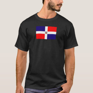 T-shirt Drapeau dominicain