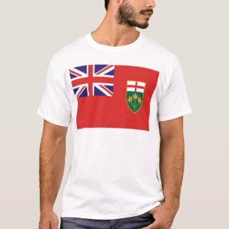 T-shirt Drapeau d'Ontario