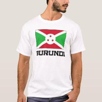 T-shirt Drapeau du Burundi